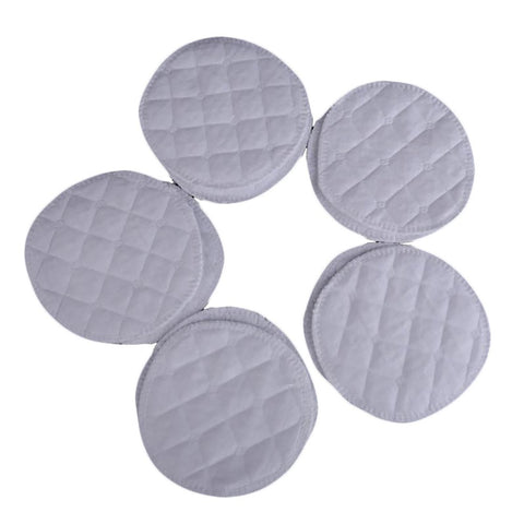 10pcs/set Soft Absorbent Cotton Washable Reusable Breastfeeding Breast Nursing Pads