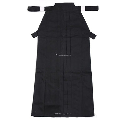 High Quality Kendoist Black Kendo Iaido Aikido Hapkido Hakama Martial Arts Uniforms Japanese Dobok Sz XXS-3XL