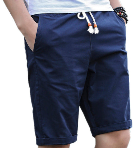 Summer Cotton Shorts Men Fashion Brand Boardshorts Breathable Male Casual Comfortable Plus Size Cool Short Masculino 208