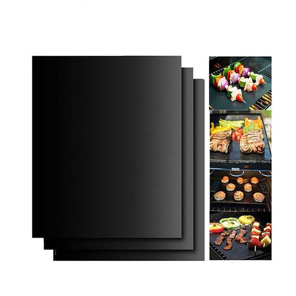 Hot Sale 3pc Or 5 Pc Non-Stick BBQ Magic Grill Mat Perfect for Baking on Gas Heat Resistant For Use in Oven And Microwave