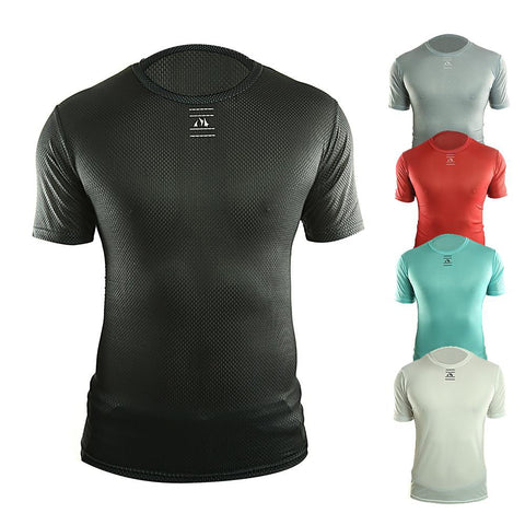 Racmmer Pro 2017 Bike Cool Mesh Superlight Cycling Base Layers Bicycle Short Sleeve Shirt Highly Breathbale Underwear Jersey