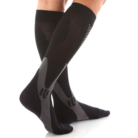 Unisex Adult's Knee High Socks Stretch Support Compression Outdoor Sport Running Snowboard