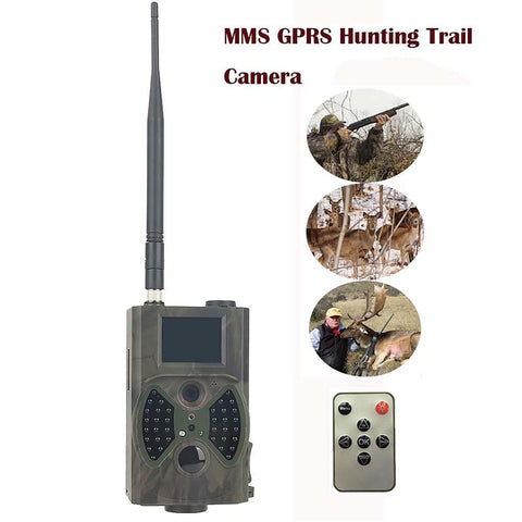 Wildlife Trail Camera Invisible Animal Trap MMS GSM 940nm LED 1080P