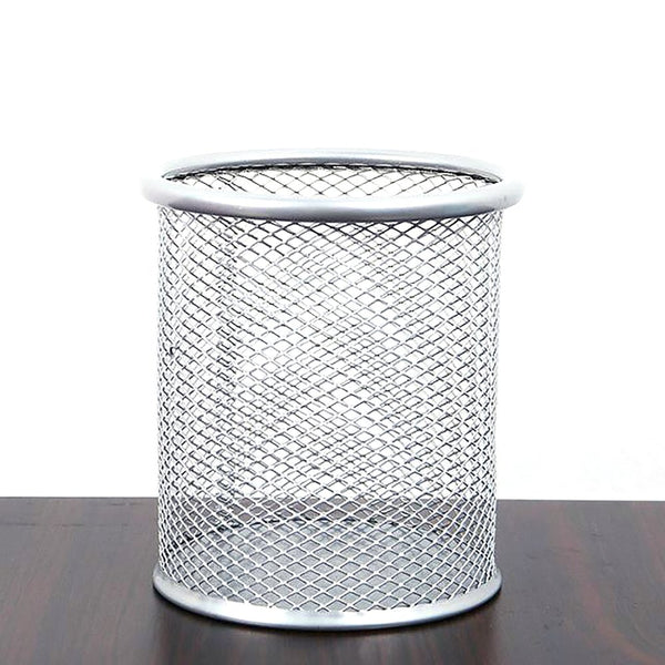 Round Cosmetic Pencil Pen Holder Office Organizer Container Supplies