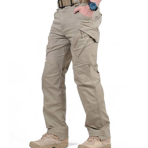 IX9 City Tactical Cargo Pants Men Combat SWAT Army Military Cotton Pockets Stretch Paintball Militar Casual Trousers XXXL