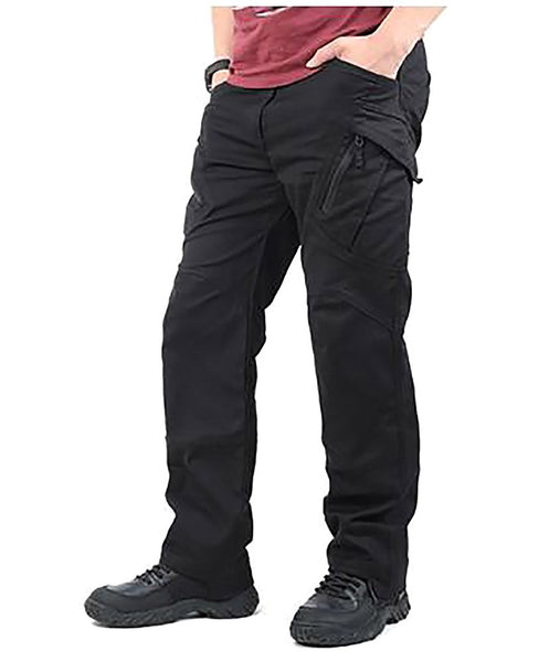 Men's Cargo Pant Multi Pocket Tactical Regular Cotton City Combat SWAT Army Zipper Fly Strecht Paintball Casual