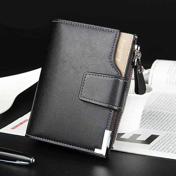 Baellerry Brand Wallet Men Leather Wallets Purse Short Male Clutch Wallet Mens Money Bag Quality Guarantee