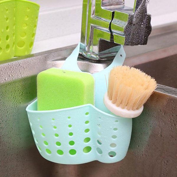 SAE Fortion Portable Basket Home Kitchen Hanging Drain Bag Bath Storage Tools Sink Holder Accessory Vaciar Cesta