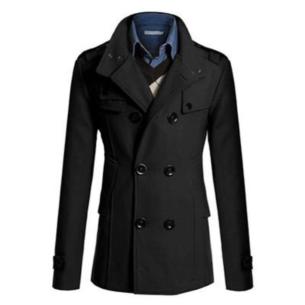 ACTIONCLUB Hot Sale Men Windbreaker Mens Trench Coat Casual Jacket Brand Clothing Men's Jackets Plus Size