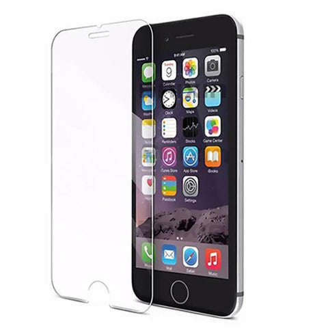 9H Tempered Glass For Iphone 4s 5 5s 5c SE 6 6s plus 7 Screen Protector Protective Guard Film Front Case Cover +clean Kits