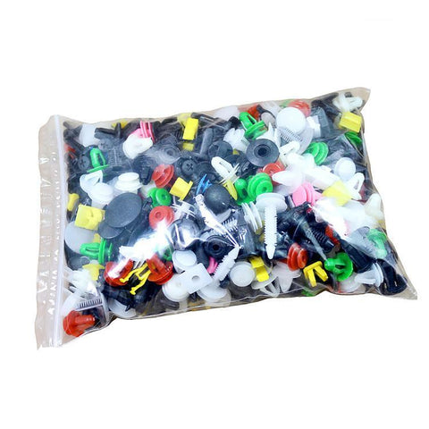 500PCS Car Mixed Universal Door Trim Panel Clip Fasteners Auto Bumper Rivet Retainer Push Engine Cover Fender Fastener