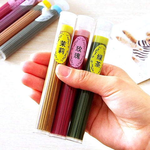 New One Box Sticks Incense Aromatherapy Fragrance Spices Fresh Air Natural Aroma Indoor Sandalwood