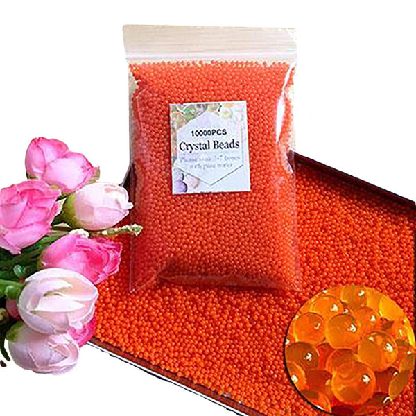 Water Beads Crystal Soil Hydrogel Polymer Growing for Flower Wedding Decoration 10000pcs/bag