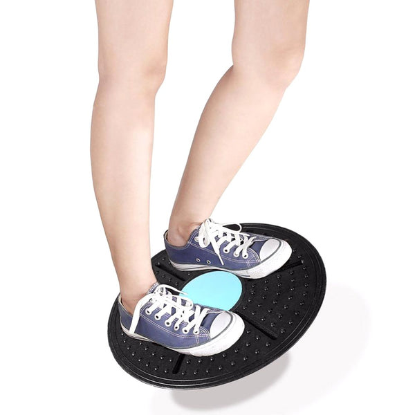 ABS Plastic Support 360 Degree Rotation Massage Balance Board For Exercise Physical Foot Loose Load-bearing 160kg
