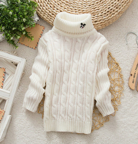 Unisex Baby's Knitted Sweater Warm Outerwear