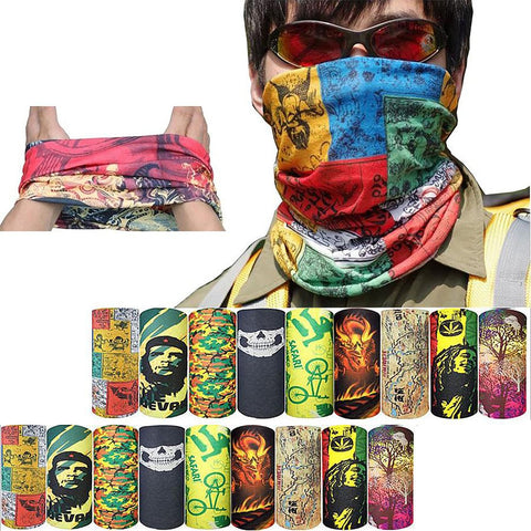 100% New Magic Headband Outdoor Sports Neck Warmer Cycling Bike Bicycle Riding Face Mask Head Scarf Scarves Bandana Free Ship