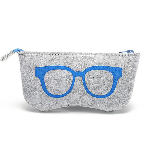 Unisex Adult's Sunglasses Case Felt