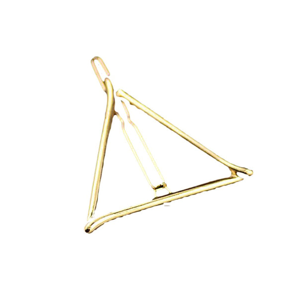 Women's Hollow Triangle Hairpins for Wedding Party Accesories