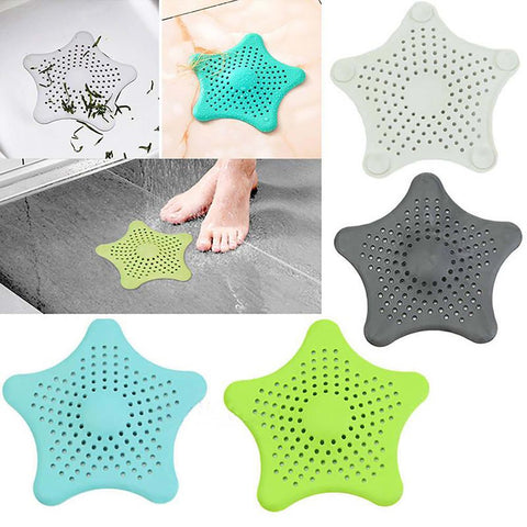 Silicone Sucker Filter for Kitchen Bathroom Sink Hair Colander