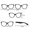 Women's Eye Glasses Vintage Frame with Plain Mirror Clear Lenses Big Metal Oval