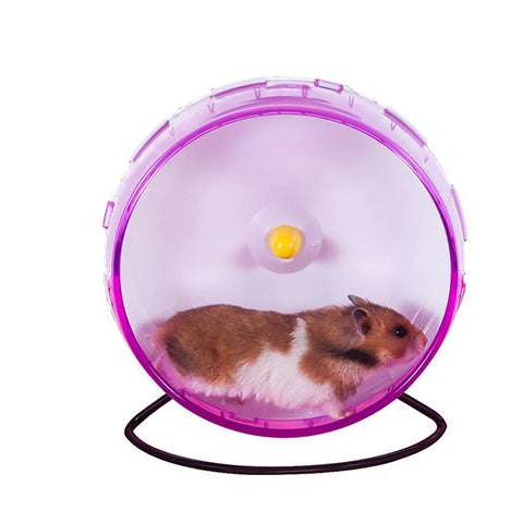 21 CM Big Silent Hamster Chinchilla Running Exercise Wheel Rack Guinea Pig Sports Balls Toys Accessories