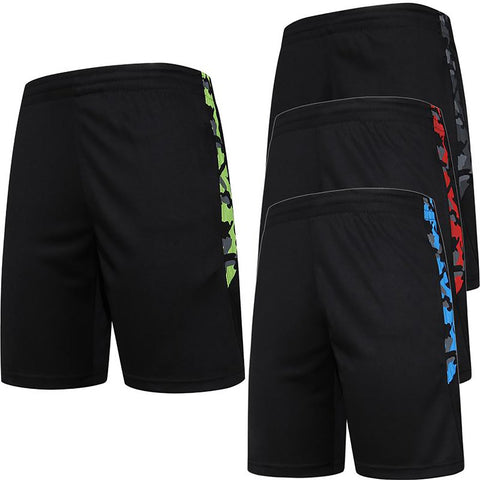 2016 New Summer Quick Dry Men's Soccer Shorts Sports Training Men Running With Zipper Pocket Jogging