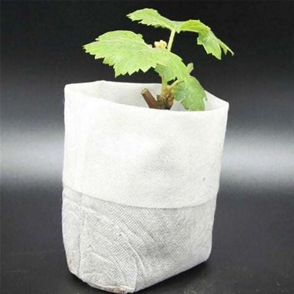 Seedling Raising Bags 10 by 12cm 100pcs/pack Environmental Protection Nursery Pots Garden Supplies