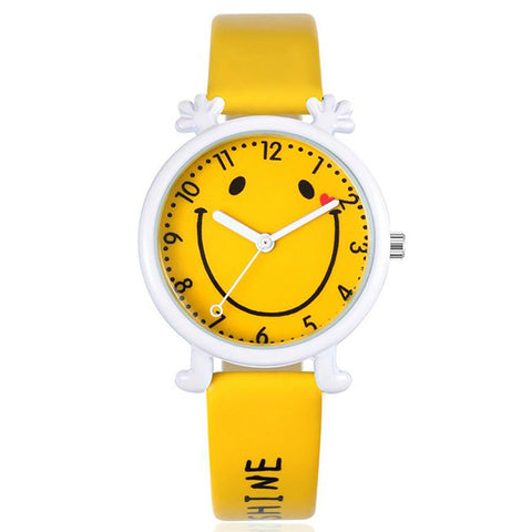 Unisex Kid's Watch Quartz Analog Leather Cartoon Casual Waterproof Gift