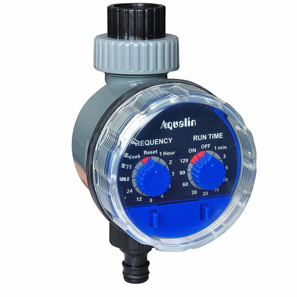 GardenWatering Timer Ball Valve Automatic Electronic Water Home Irrigation Controller System #21025
