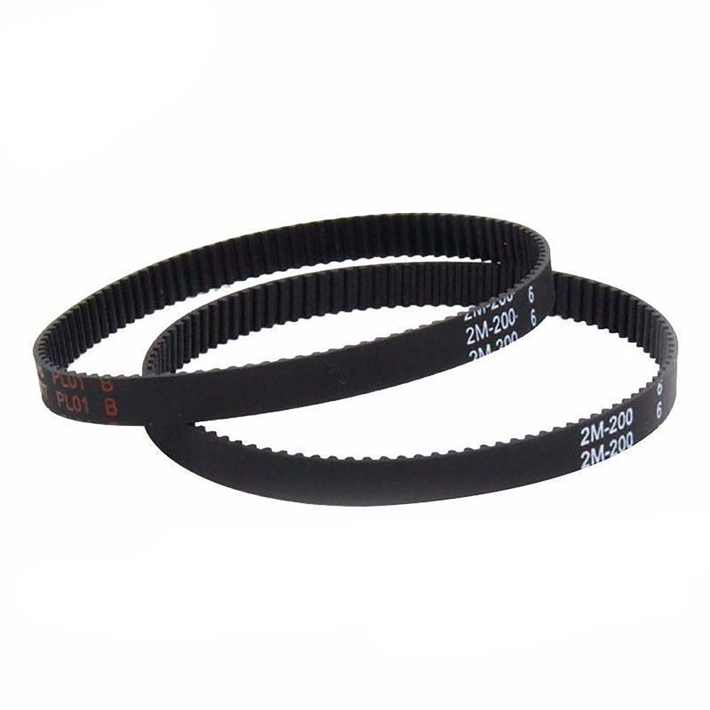 Timing Belt Gt2 Closed Loop Rubber 2gt 6mm 3d 110 112 122 158 200 Product 280 Watch Whole