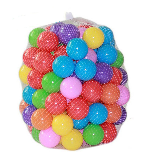 Plastic Pool Balls 100pcs/lot Eco-friendly Water Toys for Outdoor Fun and Sports