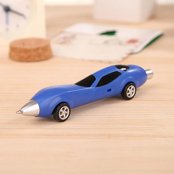 Cute Kawaii Cartoon Plastic Car Ballpoint Pen Novelty Ball Creative Items Korean Stationery Free Shipping