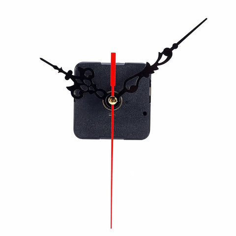 DIY Clock Mechanism Classic Hanging Black Quartz Watch Wall Movement Parts Repair Replacement Essential Tools