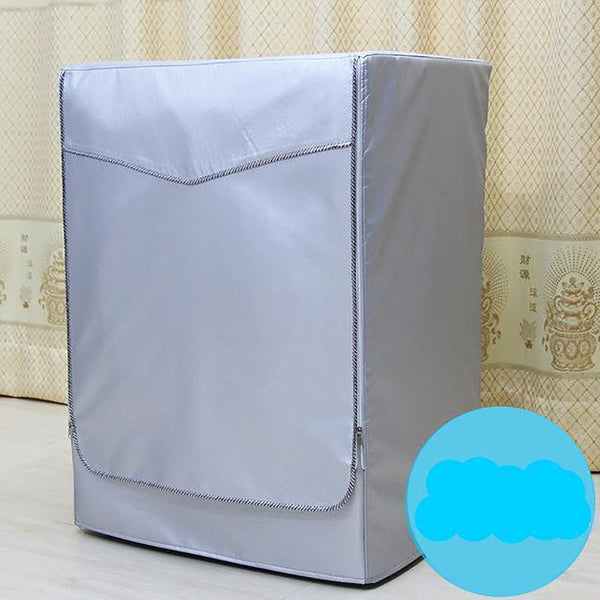 Washing Machine/Dryer Cover Waterproof Sunscreen Polyester Automatic Roller Dustproof