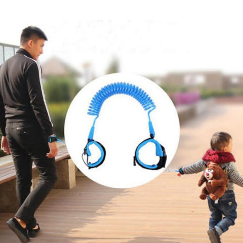 Toddler Baby Kids Safety Walking Harness Child Leash Anti Lost Wrist Link Traction Rope Rz