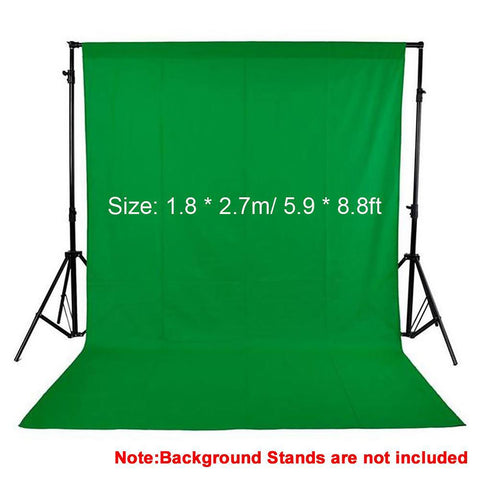 Nonwoven Photography Backdrop 1.8 by 2.7m/5.9 by 8.8ft Studio Background Screen Fabric