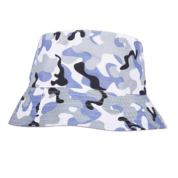 Women's Bucket Hat Flat Fisherman Style Sun Summer Beach