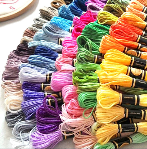Embroidery Thread Yarn Floss You Can Choose Any Colors And Quantity Freely