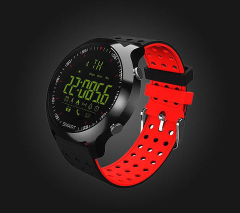 Unisex Adult's Smartwatch Sport Bluetooth 4.0 5 ATM Water Resistant Call Notification Remote Control Alarm Clock