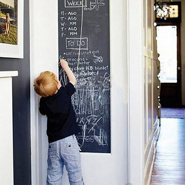 Novelty Chalk Board Creative Vinyl Draw 45*200cm