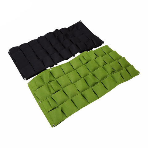 Wall Vertical Grow Bags for Plants Flowers Garden Pockets Indoor Outdoor