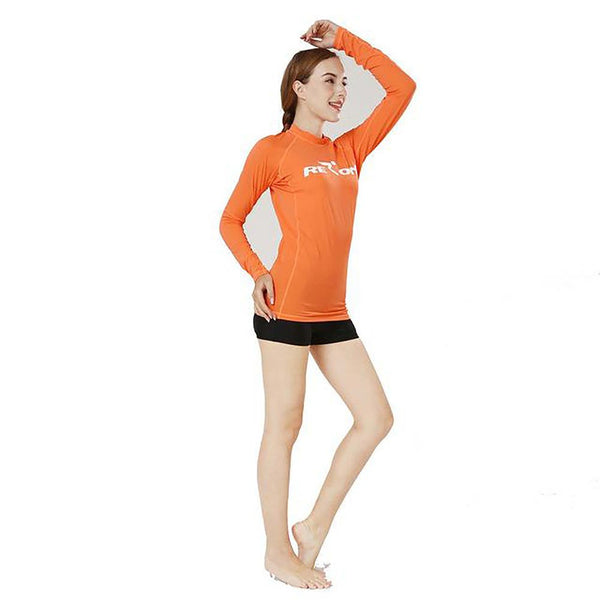Unisex Adult's Wetsuit Long Sleeves Rash Guard UPF 50+ for Surf Swimming Diving Spearfishing