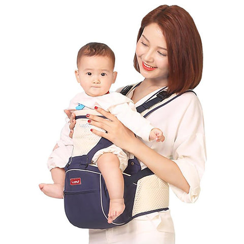 Baby Carrier Breathable Summer Seat with Ergonomic Sling