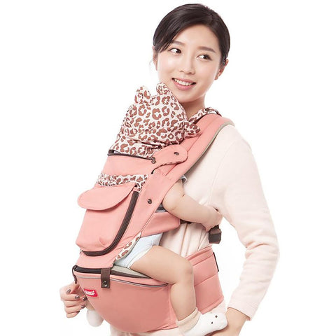 Sunveno Baby Carrier Four Seasons Multifunctional Waist Stool Slings for 0-36M