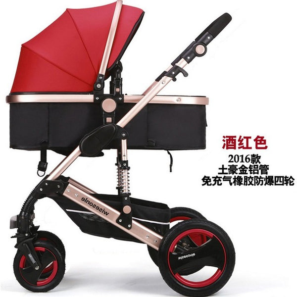 Free Shipping SGS Certification3 Year Warranty Baby Stroller 0 - Years Multi-color Choices Natural Rubber Four Wheel