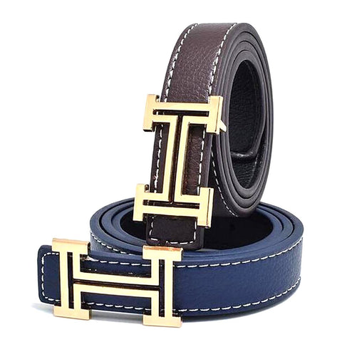 Unisex Children's Belt PU Cowboy Leisure Designer 80cm
