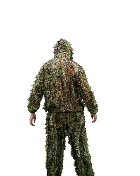 Unisex Adult's Hunting Clothes 3D Maple Leaf Bionic Yowie Birdwatch Airsoft Camouflage