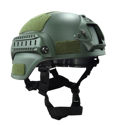 Head Protector with Night Vision Sport Camera Mount Military Paintball Tactical Airsoft Gear