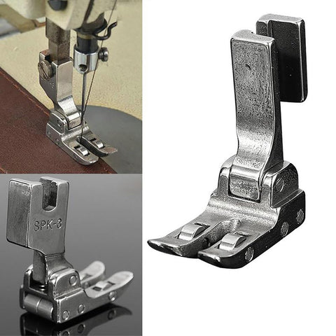 Industrial Sewing Machine Roller Presser Foot SPK-3 with Bearing All Steel Leather Coated Fabric Hot Sale