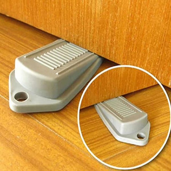 Rubber Door Stoppers Safety Anti-Slamming Prevent Finger Injuries